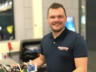 Thije van Delft - Teamleider Servicedienst Elektrolas