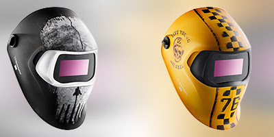 Nieuwe designs 100V helm