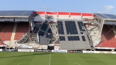 Instorting dak AFAS stadion, hoe te voorkomen
