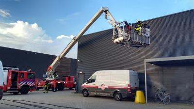 Elektrolas oefent samen met de Brandweer