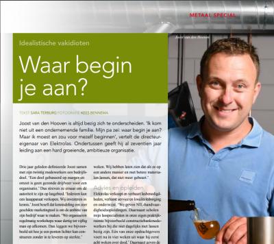Leuk interview met onze directeur Joost van den Hooven