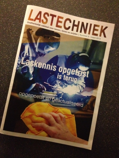Vakblad Lastechniek op bezoek bij Elektrolas
