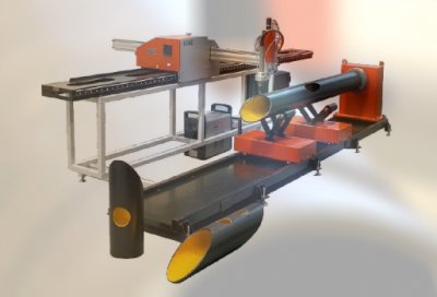 Nieuw! De betaalbare compacte CNC buis&plaat snijmachine