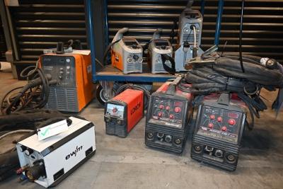Revisie van lasapparatuur door Elektrolas