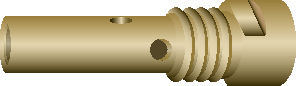 Binzel contacttiphouder A255LW Abimig