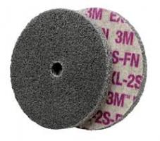 3M Scotch-Brite EXL Unitized Wiel XL-UW, paars,  76 mm x 6 mm x 6 mm, 2S FIN
