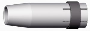 Gasmondstuk 24KD/240D schroefbaar tbv afzuigtoorts.