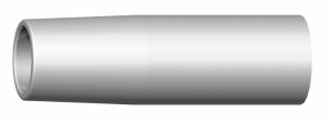 Binzel gasmondstuk 255LW  cilindrisch