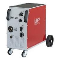WP 210 Mig/mag machine Weldpartner lasmachine 230V/400V  incl. massakabel, gasslang en slangenklemmen