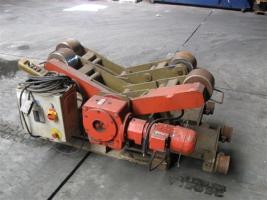 Key Plant 5 ton rollenbank  driver en meeloper incl. controle kast en afstandsbediening  Snelheid : 140-1500mm/min Bereik : 200-3500 mm