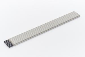 Sij 312 L 2,5x300mm laselektrode . Prijs per kg en verpakt in blik van 3,8kg. AWS 312, alleskunner.