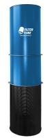 Dust Solutions Filtertube FT3000 3000m3/h - 60KG dia 630mmx2600mm (h) 1,1 KW - 230Volt - 50HZ 1 jaar garantie