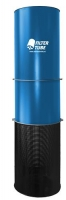 Dust Solutions Filtertube FT5000 5000m3/h - 60kg diameter 630mmx2600mm (h) 2,2 KW - 230Volt - 50HZ 1 jaar garantie