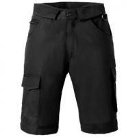 Bermuda zwart mt 52 met 2 zijzakken, 2 achter zakken met klep, duimstok zak en dijbeenzak.