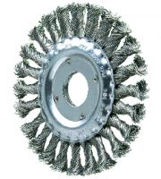 Borstel RVS 125x12x33 SG Getordeerde draad 0,35mm, dikte 12mm, aantal strengen 24
