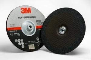 3M High Performance afbraamschijf T27,  115 mm x 6.5 mm x 22 mm, inox