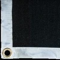 Lasdeken (medium) 200x200 glasvezel vermiculiet bedekt, temperatuurbestendig tot 750 graden.