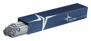 Bohler Voestalpine 6013 Blau 2,5x350mm/kg Prijs per kilo, verpakt per 4,4kg en  22kg per omdoos.