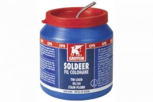 50/50 Tin/Lood soldeer 500 gram