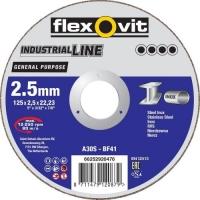 Flexovit 115x2,5 doorslijpschijf ** GenPur A30S