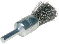 Cibo penseelborstel 17x25 RVS 0.3 gegolfde draad, 6mm stift