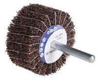 Cibo 80x50 Tex-combi wiel K150   diameter 80, breedte 50, 6mm stift