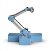 Cobot robotarm UR10e , een uiterst veelzijdige collaboratieve industriële robotarm met een hoge payload (12.5 kg) en 1300mm reikwijdte. Geleverd inclusief; - controller  - touchscreen bedieningsunit - kabels tussen controller, robot en TP - software GUI