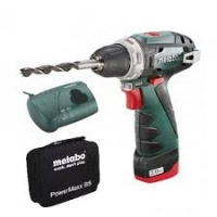 Accu boorschroefmachine 10.8 Volt PowerMaxx BS  1 x 2,0 Ah Li-Power, LC 40, Soft Bag
