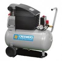 Gebruikte Creemers compressor Mobiel 254 50ltr, 220V.