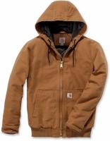 CH werkjack donker bruin Sherpa maat L