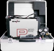 EWM Picotig 200 DC 5p set, lucht gekoelde Tig machine.i ncl. toebehoren