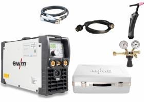 EWM Picotig 200 DC Tig machine Set Elektrolas Incl. toebehoren