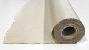 Glasvezel lasdeken (light) op rol 1x25 meter, temperatuurbestendig tot 550 graden.