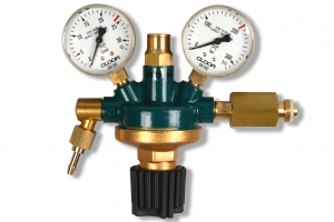 Gloor Reduceer ARG 4-24 liter, 2 manometers
