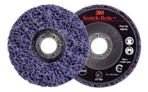 3M Clean & strip 115mm glasvezelschijf paars