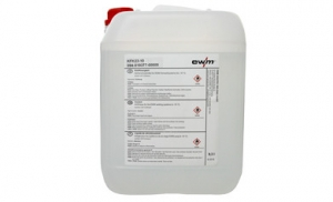 EWM koelvloeistof p/ltr 9,3 liter per kan, transparant