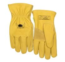 Chauffeurshandschoen L 10-2700 Olie-en weerbestendig van dik-duurzaam-soepel leder (geel)