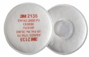 3M 2135 P3 Stoffilter(SL) Verpakt per 20paar. Prijs is per paar.