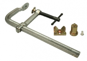 StrongHand pos. klem 30mm railbeugel. Compleet met verlengblok en V-klemstuk