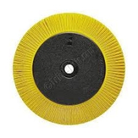 3M Scotch-Brite Radial Bristle Borstel BB-ZB met adapter, TS, geel,  203x25x32 mm, P80