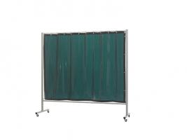 Omnium Enkel Green6   GOR Gemaakt van ronde buis (30x2mm) en  vierkante buis (40x30x2mm). Afgewerkt in grijze poedercoating. - Hoogte 200cm, breedte 2