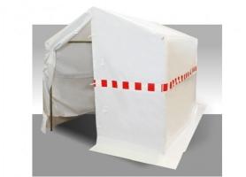 Lastent 4x2m PVC gecoat polyesterweefsel.