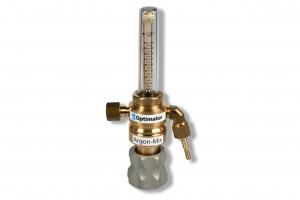 Leidingventiel flow 3/8R Optimator/30 met ingebouwde gasspaarklep. Maximale voordruk 10 bar, geadviseerde voordruk ca. 7 bar.