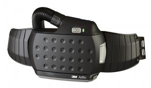 3M Adflo set compleet met luchtslang, riem, vonkenvanger, voorfilter, deeltjesfilter, batterij, acculader en 9002 Adapter
