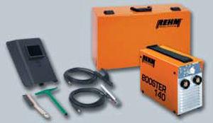 Rehm Booster 140 sn:  Booster 140 inclusief toebehorenset in Stanley gereedschapkoffer FatMax