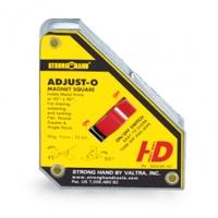 Hoekmagneet 40kg aan/uit Strong Hand Adjust-0 magneet-hoek 111x95x29 mm. Trekkracht is 40 kg