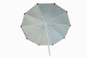 Lasparasol 4m HDQ Heavy Duty Parasol Mast = 50mm  Baleinen = 20x35mm * Brandvertragende stof *