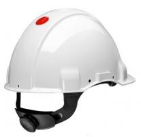 3M Peltor veiligheidshelm wit G3001 met draaiknop (per 20st)