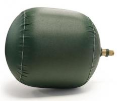 Backinggas ballon DN200 systeem met 1 ballon, bereik 205mm.