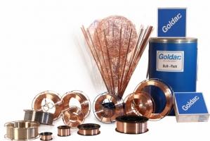 Goldarc MA600 1,0mm Oplasdraad Mag lasdraad voor het slijtvast oplassen  /kilo spoel a 15kg